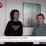 Lluís Angrada e Núria Cornellas