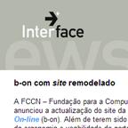 Interface News, Outubro 2005